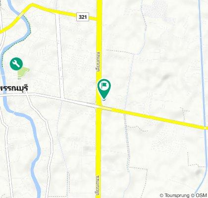 340, Mueang Suphan Buri to 340, Mueang Suphan Buri