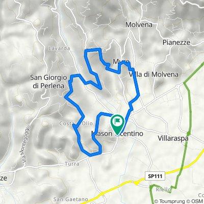 Da Via G. Marconi 56, Colceresa a Via G. Marconi 56, Colceresa