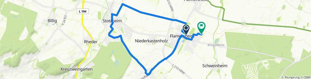 Speckelsteinstraße 23, Euskirchen nach Kiebitzstraße 60, Euskirchen