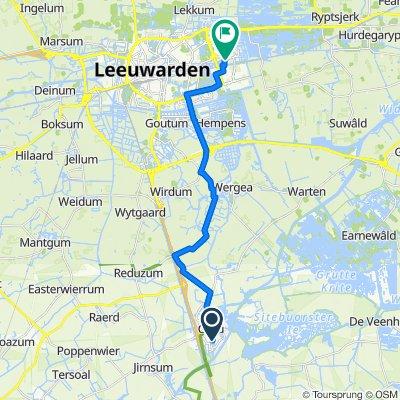 De Fûke 40, Grou naar Crackstate 18, Leeuwarden