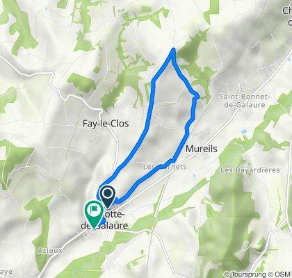 De 250 Montée de l'Église, La Motte-de-Galaure à 7 Impasse de l'Avenon, La Motte-de-Galaure