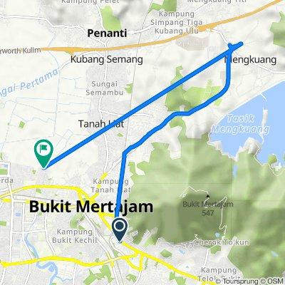Jalan Kulim 1a, Bukit Mertajam to Bandar Baru Perda, Bukit Mertajam