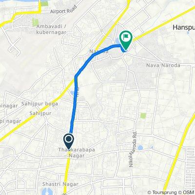 Narol - Naroda Road, Ahmedabad to Ahmedabad