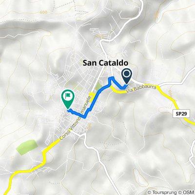 Da Viale Kennedy 107, San Cataldo a Via la Tona 13, San Cataldo