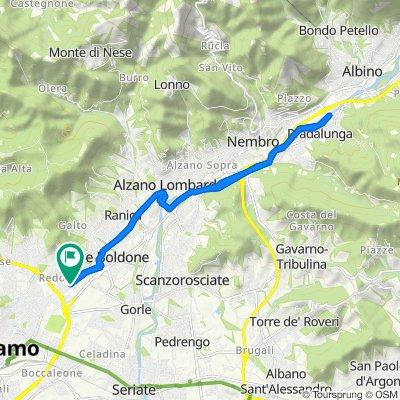 Da Via Marco Antonio Negrisoli 4, Bergamo a Via Marco Antonio Negrisoli 4, Bergamo