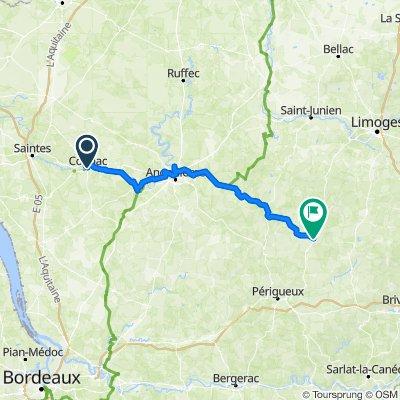 2020.10.17-21 Flow vélo Cognac - Thiviers
