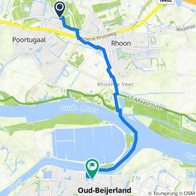 Portus 46, Poortugaal naar Stuurboord 17, Oud-Beijerland