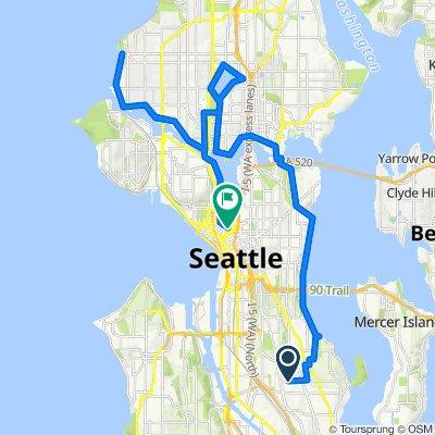 The Seattle tour