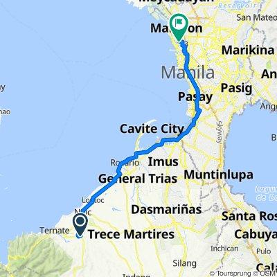 Col. E. Riego de Dios, Maragondon to Hito Street, Manila