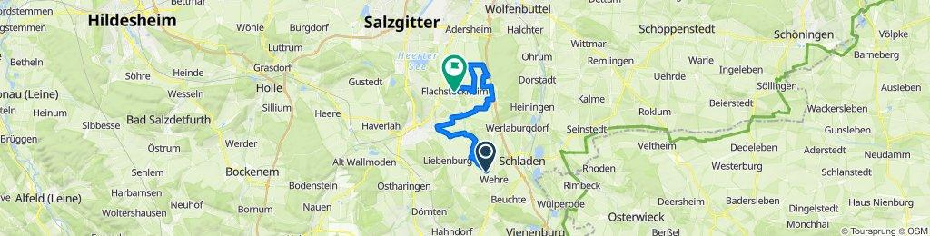 Route nach Am Platz 3, Salzgitter