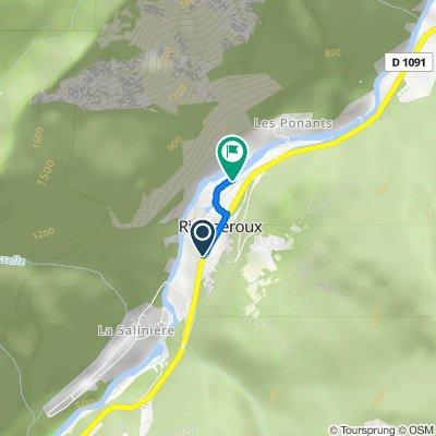 De Route des Alpes 32, Livet-et-Gavet à Rue Georges Pelletier 27, Livet-et-Gavet
