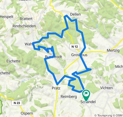 Bettborn Radfahren