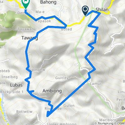Baguio - La Trinidad - Bontoc Road to Baguio - La Trinidad - Bontoc Road