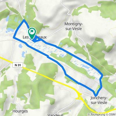 De 8 Rue des Marais, Montigny-sur-Vesle à 8 Rue des Marais, Montigny-sur-Vesle