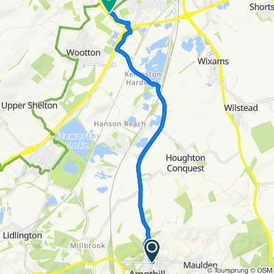 Bedford, Ampthill to Wilkinson Road 164