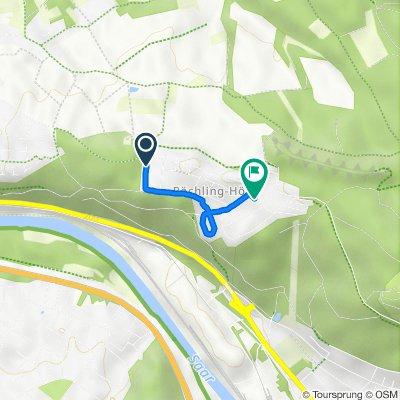 Homburger Straße 57, Völklingen nach Mainzer Straße 1–7, Völklingen