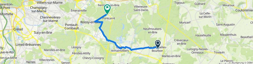 De Rue Est Jodelle 2, Les Chapelles-Bourbon à D471 1477, Pontcarré