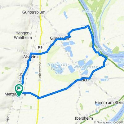 Am Goldbach 24, Mettenheim nach Am Goldbach 24, Mettenheim