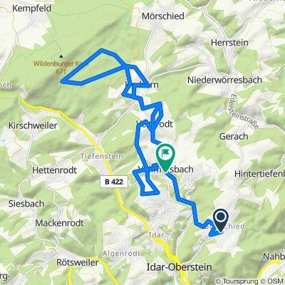 K37 48, Idar-Oberstein nach L177 11, Vollmersbach
