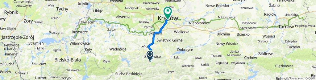 Harbutowice do Bernardyńska 2, Kraków