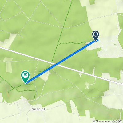 Itinéraire à partir de 3 Impasse du Grand Parc, Saint-Pierre-lès-Nemours