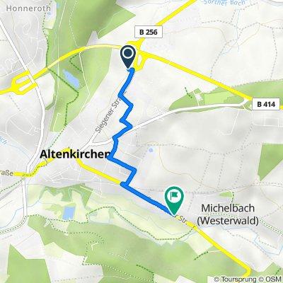 Siegener Straße 67, Altenkirchen to Frankfurter Straße 2, Altenkirchen