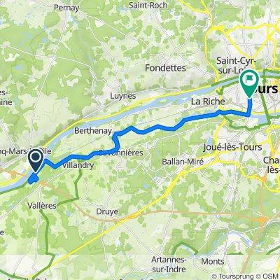 De 339–395 La Fillonnerie, Villandry à 19 Rue de Margueron, Tours