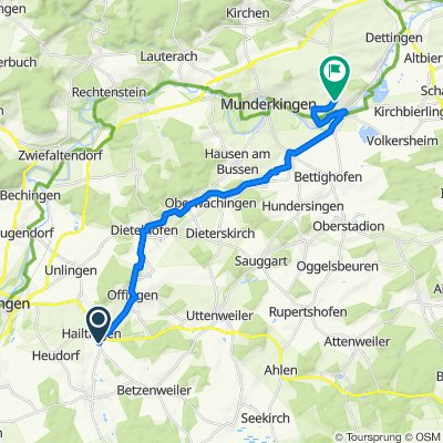 K7536, Dürmentingen nach Eichenweg 12, Rottenacker
