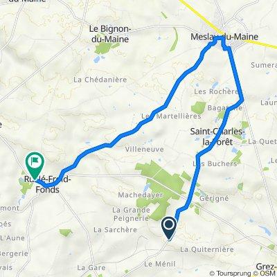 D610, Longuefuye to D109, Ruillé-Froid-Fonds