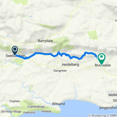 Swellendam to Riversdale
