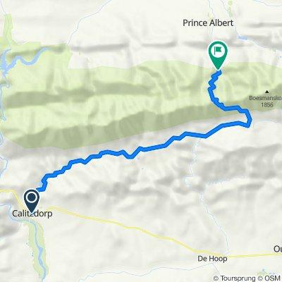 Calitzdorp to Swartberg