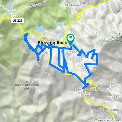 235 Mockingbird Ln, Blowing Rock to 235 Mockingbird Ln, Blowing Rock