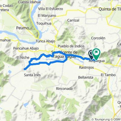 De Avenida Requegua, Raquegua a Ruta 66 551, La Platina