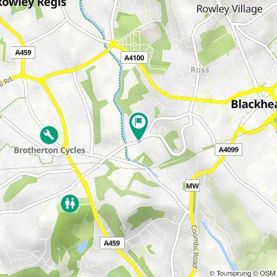 89A Waterfall Lane, Cradley Heath to 89A Waterfall Lane, Cradley Heath