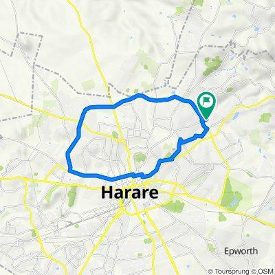 Harare drive 42km