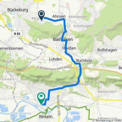 Auf dem Siek 8, Bückeburg nach Breite Straße 19, Rinteln