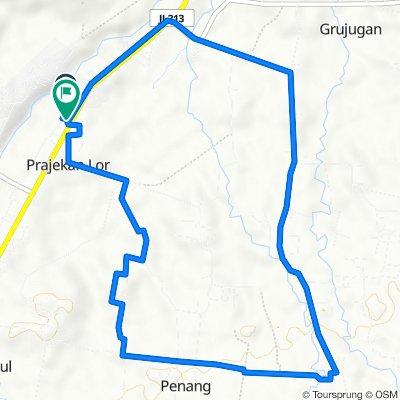 Gang Kenanga, Prajekan to Jalan Raya Situbondo, Prajekan