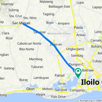 Molo-Mandurriao Road, Iloilo City to Molo-Mandurriao Road, Iloilo City
