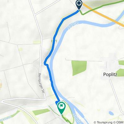 Neue Welt 1, Plötzkau nach Bernburger Straße 47A, Alsleben (Saale)