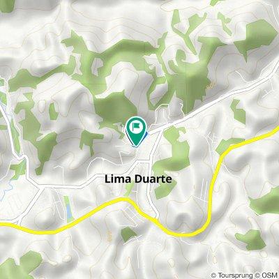 De Rua Análio Moreira, 91, Lima Duarte a Rua Geraldo Magela de Paiva, 112, Lima Duarte
