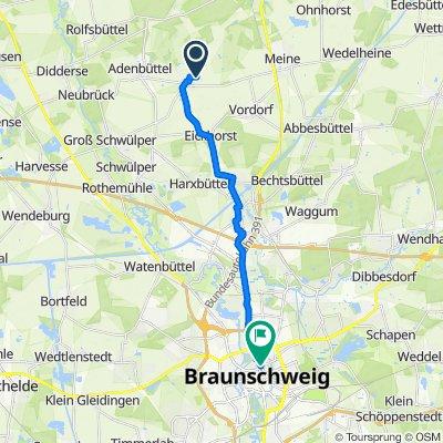 Höhe 8, Vordorf nach Wilhelmstraße 83, Braunschweig