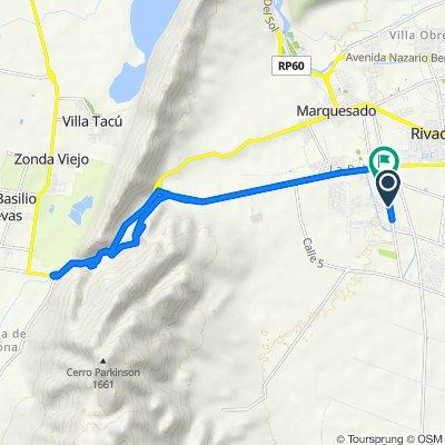 De Ruta Provincial 64 3052 a Ruta Provincial 64, Rivadavia