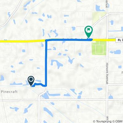 4190 Drakeswood Cir, Sarasota to 5045 Fruitville Rd, Sarasota
