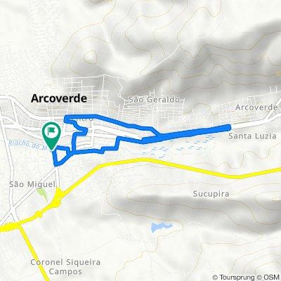 De Rua Manoel Soares de Lima, 20, Arcoverde a Rua Manoel Soares de Lima, 110, Arcoverde
