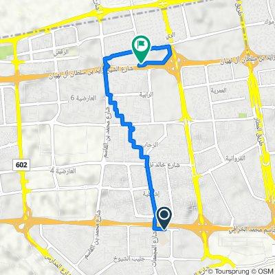 Route from Street 75, Al Kuwayt