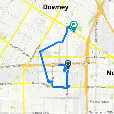 Woodruff Avenue 13228, Downey to Firestone Boulevard 9560, Downey