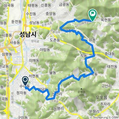 강남300-200-100-갈마치-솔고개-이배재