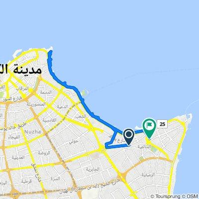 Salim Al-Mubarak Street, Salmiya to Street 6 5, Salmiya