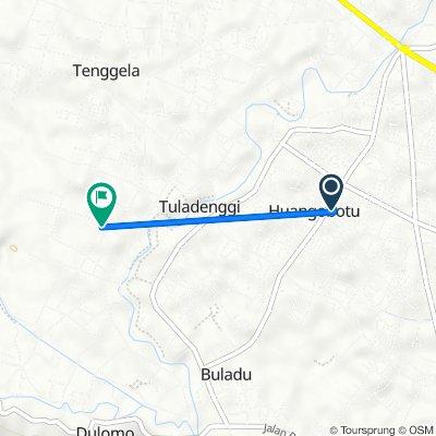 Jalan Rambutan, Dungingi to Ilotidea, Tilango