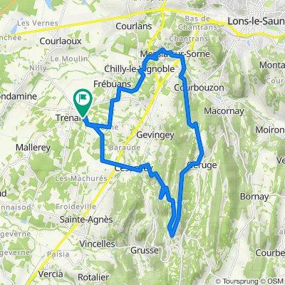De 6 Chemin du Thiellet, Trenal à 9 Chemin du Thiellet, Trenal